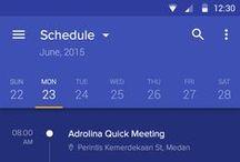 Mobile UI Design / Design inspiration for mobile applications.