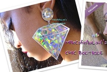 MlleCafeAuLait's CHIC BOUTIQUE / This is the place for Handcrafted, Unique, One of a Kind, Spectacular Earrings for the Unique, One of a Kind, Spectacular Woman!  Each pair are unique, as are you!