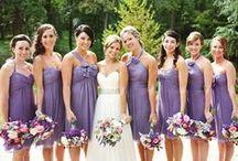 Pretty purple weddings