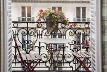• PARISIAN BALCONY •