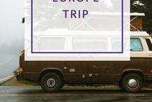Europa Kurztrips & Roadtrips / Entdecke mit uns Europa! Die schönsten Plätze und die besten Insider-Tips.