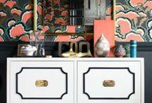 dresser + closet