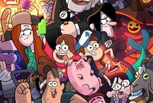 Gravity Falls / When gravity falls and earth becomes sky, fear the beast with just one eye