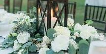 Wedding Centrepieces / Fantastic ideas and inspiration for decorating wedding tables