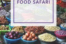 Essen & Trink Safari / Was gibt es schöneres als in einem anderen Land neue Gerichte und Getränke zu probieren? Wir nehmen euch in unserer Food Safari mit um die ganze Welt.