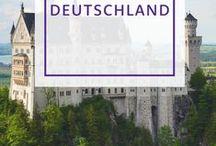 Reiseziel Deutschland / Aufregende, bezaubernde und außergewöhnliche Orte in Deutschland.