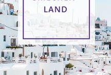 Reiseziel Griechenland / Pins über Pins, die sich mit dem Thema Griechenland befassen.