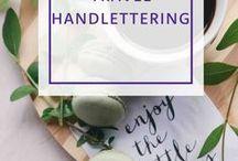 Travel Handlettering / Kalligraphie & Handlettering rund ums Reisen. Zitate, Inspiration & mehr