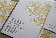 Yellow Wedding / Invitations and accents for a bright and happy yellow wedding  / by Page Stationery