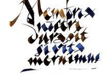 Script / fonts/type/typefaces #script
