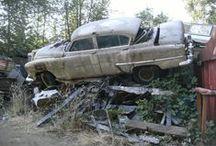 Graveyard Cars / Rusty automobiles   / by Stephen Ullmann