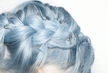 hårfarger/frisyrer / hair