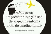 Travel quotes / Frases viajeras