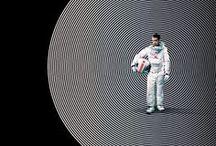 Retro sci fi poster