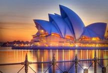 Places to visit: Australia & New Zeeland