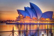 Places to visit: Australia & New Zeeland