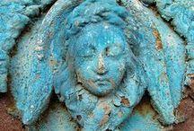 Déco - Bleu / Tout ce que j'aime en bleu, déco, vetements, broderie