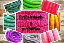 cordón trenzado / cordones trenzados para collares y pulsera  cuerda paracaidista para collares y pulseras