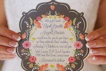 Invitations / by SAVOUR THE FAVOUR