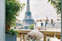 Take Me to Paris / Pretty Paris Inspiration. Fashion and travel