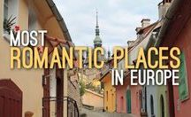 Most Romantic Places in Europe / Travelling as a couple is one of the best ways to enjoy Europe. This is a collection of romantic places in Europe.  For more couple travel ideas, check out the couple travel blog blog, www.mismatchedpassports.com.