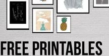 Cute Printables / Printables, compilated by myself.