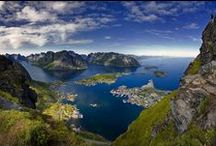Mountains & Sea / Cliffs, Fjords, Seastacks, Small Islands