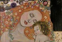 Gustav Klimt / Rakouský malíř  1862-1918