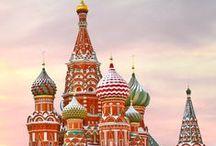 Rusko / Rozkládá se na území Evropy a Asie