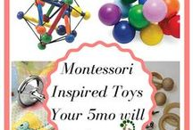 Montessori Activities for Babies and Toddlers