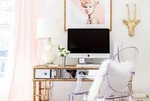 Office Vibes / Girly office inspiration