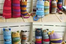 #Upcycled Wool & Felt for House~