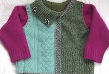 #Upcycled Wool for Little Ones~