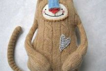 #Upcycled Wool Dolls & Toys~