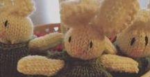 Maglia / Knit / I miei progetti di maglia. Tanti animaletti colorati ma anche qualche accessorio :)