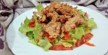 Ensaladas - vegetales - hortalizas