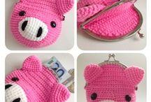 Knitting, crochet things