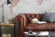 Home and Garden design ideas. / When I grow up and get my own house I am going to write 'gullible' on the ceiling of my living room and paint Peter Pan's shadow in my bedroom!!!  I would like a library, a country kitchen,a herb garden and a pretty place outside to read my many, Many books!!!