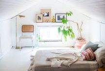 Bedrooms / Inspiration for a perfect, peaceful bedroom.