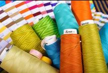 Signature® Cotton Thread / Signature Cotton Threads bring your quilting, embroidery or decorative creations to life with color and durability. Premium quality mercerized extra long staple cotton in strong 3 ply construction.  Now available in three weights!