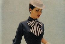 1920-50s Vintage / I absolutely adore the 40s and 50s: fashion, cars, hair, style... Everything!