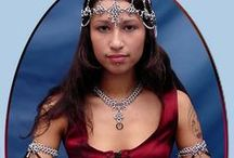 Renaissance Faire Jewelry / Renaissance faire style jewelry and costume accessories very popular for Renaissance and medieval weddings, SCA events and belly dance costumes.