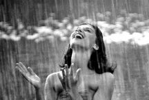 Pluviophile / Pluviophile: a lover of rain; someone who finds joy and peace of mind during rainy days.