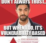 Trust - First of the Five Behaviors of a Cohesive Team