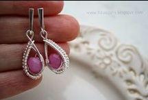 Biżuteryjki, jewelery - wire wrap