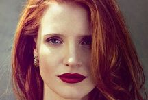 "Jessica Chastain / ""A girl should be two things: classy and fabulous."" ― Coco Chanel"