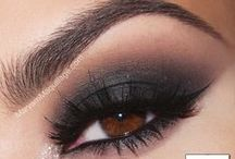 Smoky Eyes / Make up inspiration - Smoky Eyes
