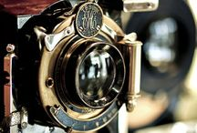Vintage / #Vintage cameras and radios have such inspirational and classic designs. #radios #cameras #antiques