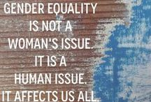 Women Today / Humanist = feminist. Half of all humans are Female.