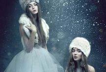 Snow Queen / my soul is spiraling in frozen fractals all around